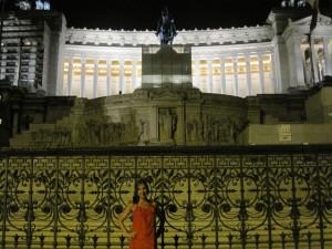 Red Carpet Roxy in front of the Campidoglio e Musei Capitolini