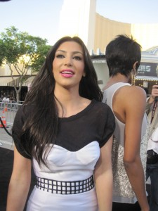 "Kim Kardashian rocking the Red Carpet at the ""Orphan Premiere"""