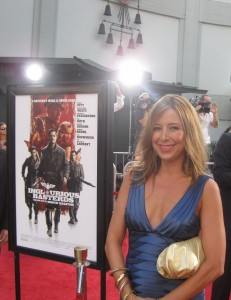 "Red Carpet Roxy on the Red Carpet at the Hollywood premiere of ""Inglorious Basterds"""