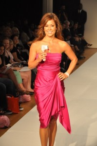 Brooke Burke on runway w Limited Edition Clarisonic lo res