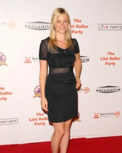 Actress Amy Smart at the 2009 Lint Roller Party