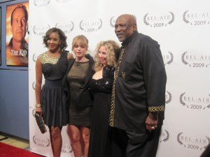 Vivica A. Fox, Taryn Manning, Bel Air Film Festival Founder Melody Storm, and Louis Gossette Jr.