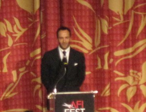 "Director Tom Ford introducing ""A Single Man"""