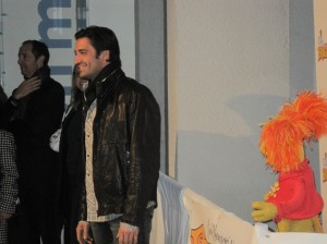 Gilles Marini and Red Fraggle