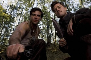 "Eli Roth and Brad Pitt in ""Inglourious Basterds"" photo: smells like screen spirit"