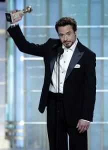 Best Actor in a Movie winner Robert Downey Jr. photo: news ok