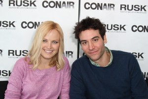 Actress Malin Akerman and Actor Josh Radnor attends the Art & Soul Center at the Sundance Film Festival 2010 at the Sky Lounge Penthouse in Park City, Utah on January 23, 2010 photo: celebrity resource