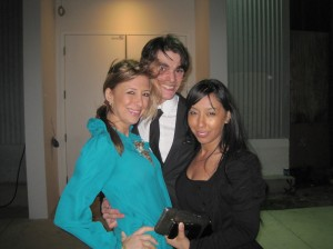 "Red Carpet Roxy, RJ Mitte, and Gia Valentina at the ""Breaking Bad"" Season 3 Premiere Party"