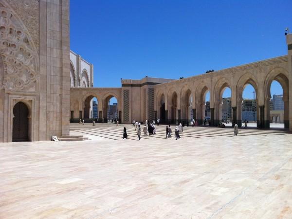 Mohammed V Mosque in Casablanca