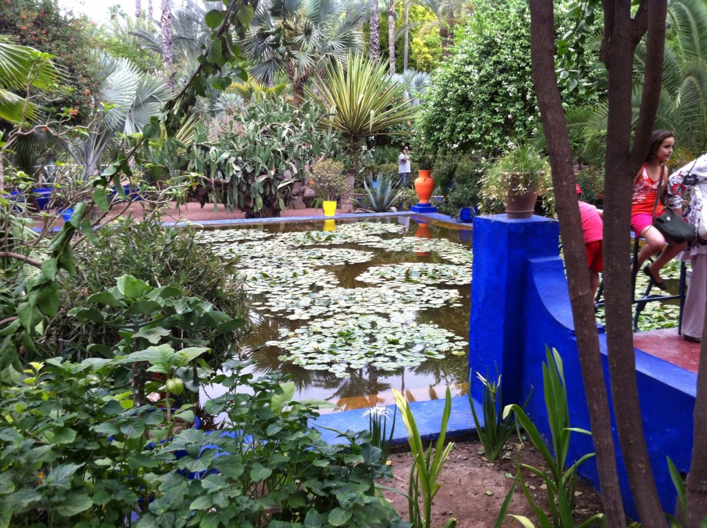 Summer travel the best of marrakech morocco red carpet for Jardin majorelle