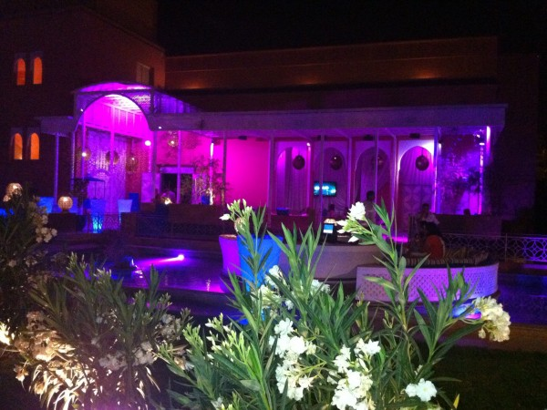 So at the Sofitel in Marrakech