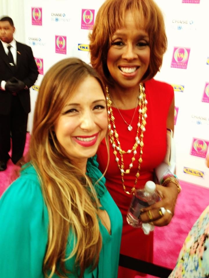 Red Carpet Roxy and Gayle King