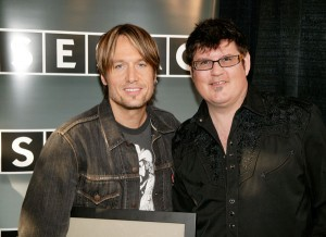 Keith Urban and songwriting partner, Monty Powell