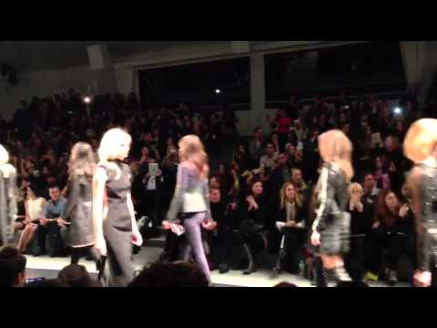 NYFW: KAUFMANFRANCO F/W 2013 AND MY CHAT WITH ASHLEY GREENE