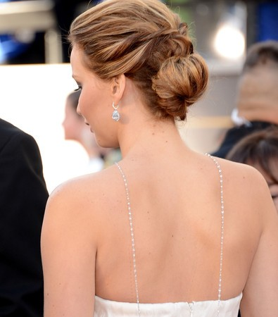 GET THE LOOK: JENNIFER LAWRENCE'S OSCARS HAIR