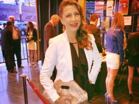 A NIGHT AT THE THEATER IN MANOLO BLAHNIK + McQUEEN + BCBG + BEBE + LIA SOPHIA