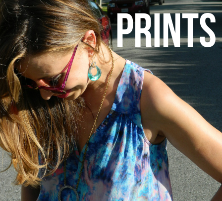ROXY'S CLOSET: WEARING WATERCOLOR PRINTS