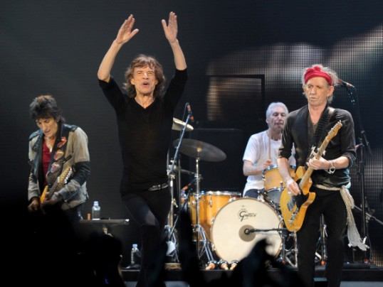 VIDEO: THE ROLLING STONES ROCK THE STAPLES CENTER