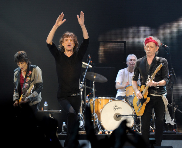 The Rolling Stones Concert Los Angeles Staples Center