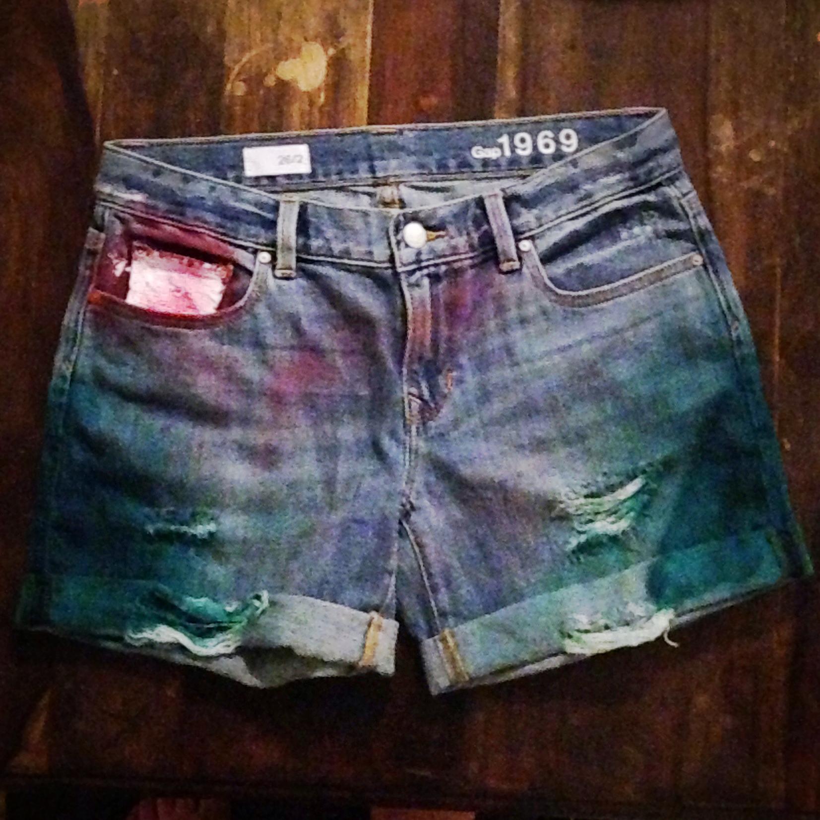 My jean shorts masterpiece!
