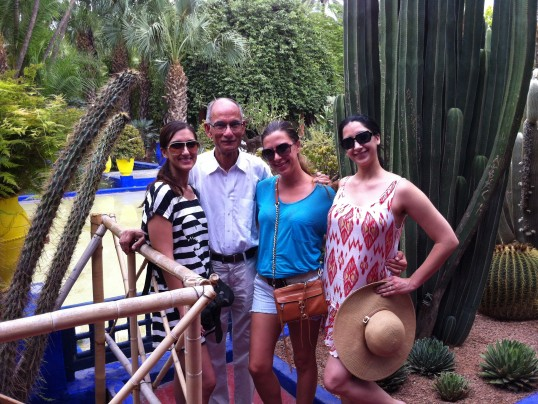 My dad, sisters and me on a family vacay in Morocco last summer