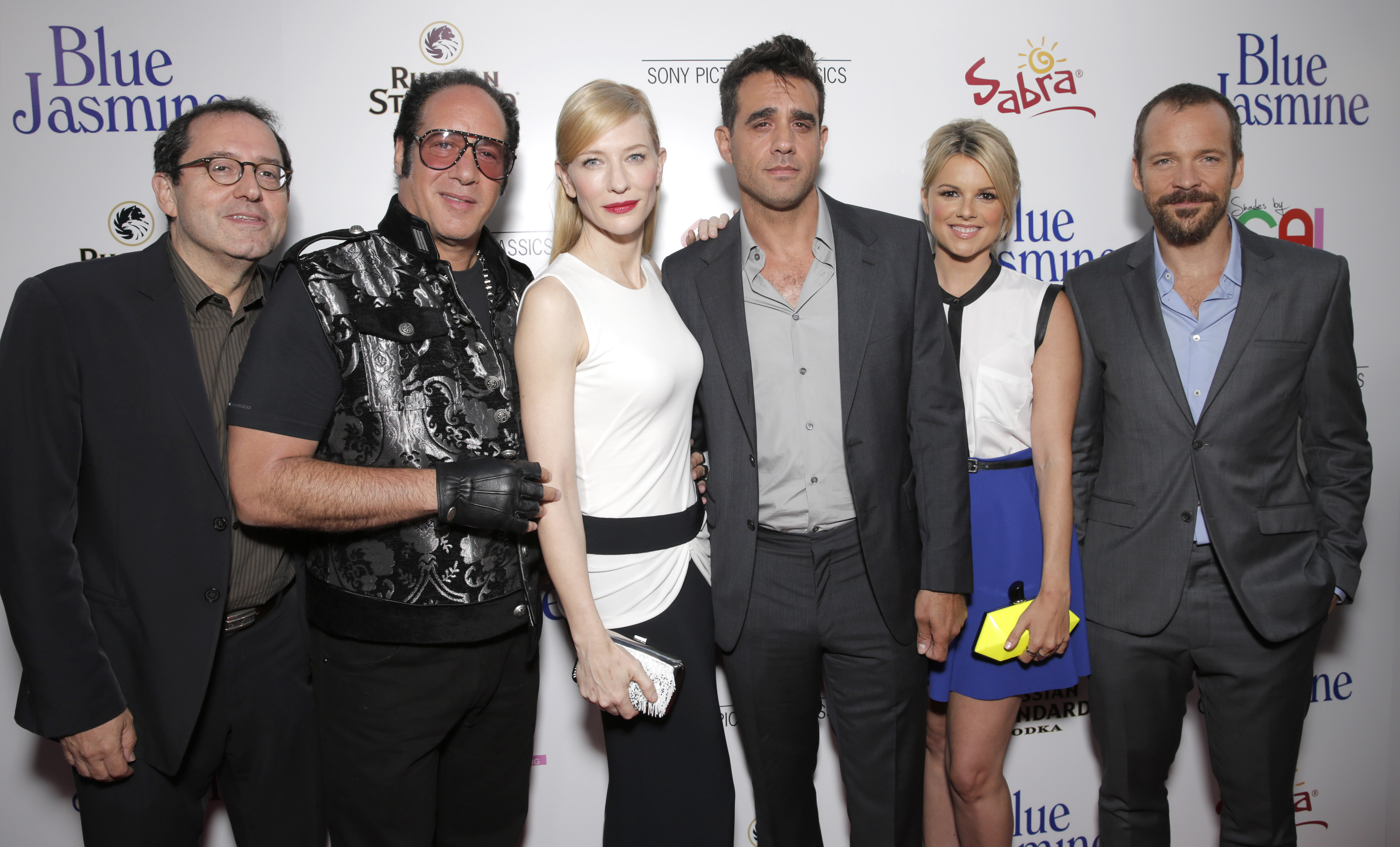 Michael Barker, Andrew Dice Clay, Cate Blanchett, Bobby Cannavale, Ali Fedotowsky, Peter Sarsgaard at the Beverly Hills premiere of Woddy Allen's Blue Jasmine