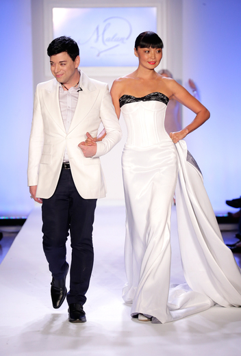 Designer Malan Breton and Supermodel Irina Pantaeva