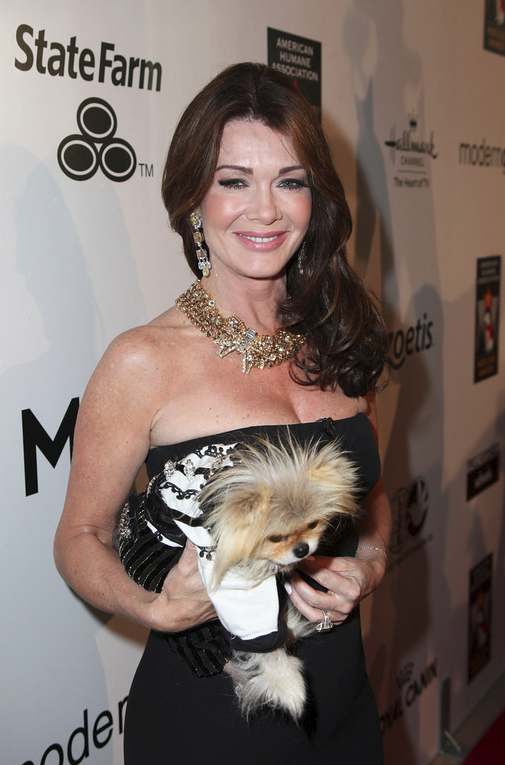 Lisa Vanderpump arrives during the American Humane Association Hero Dog Awards 2013 held at the Beverly Hilton Hotel on Saturday, Oct. 5, 2013, in Beverly Hills, California.