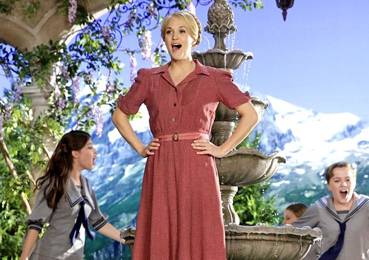 WHO WAS THE VON TRAPP'S CHOICE FOR MARIA?