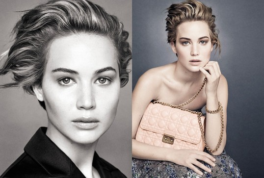 JENNIFER LAWRENCE IN NEW DIOR ADS, TALKS OSCARS FALL