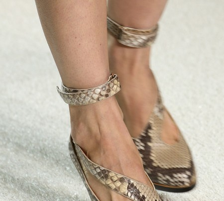 CURRENT OBSESSION: CHLOE SNAKESKIN HEEL