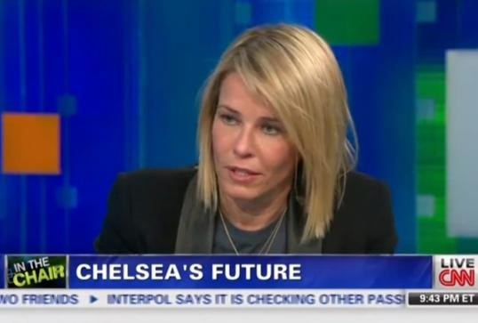 CHELSEA HANDLER LETS PIERS MORGAN HAVE IT ON LIVE TV