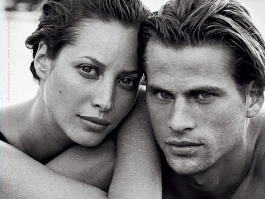CHRISTY TURLINGTON + CALVIN KLEIN = ETERNITY