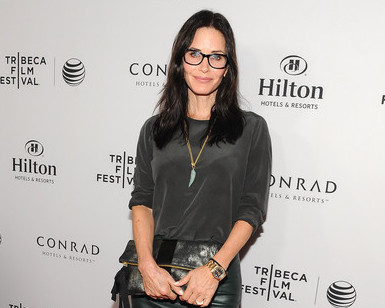 COURTENEY COX, JENNIFER GREY, JASON RITTER TALK NYC