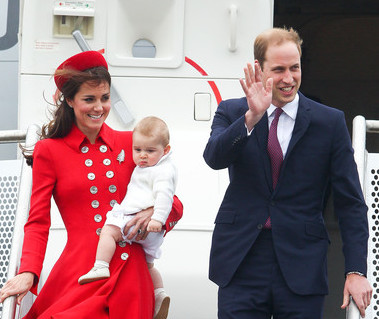 THE ROYALS TRAVELED IN HIGH STYLE TO NEW ZEALAND