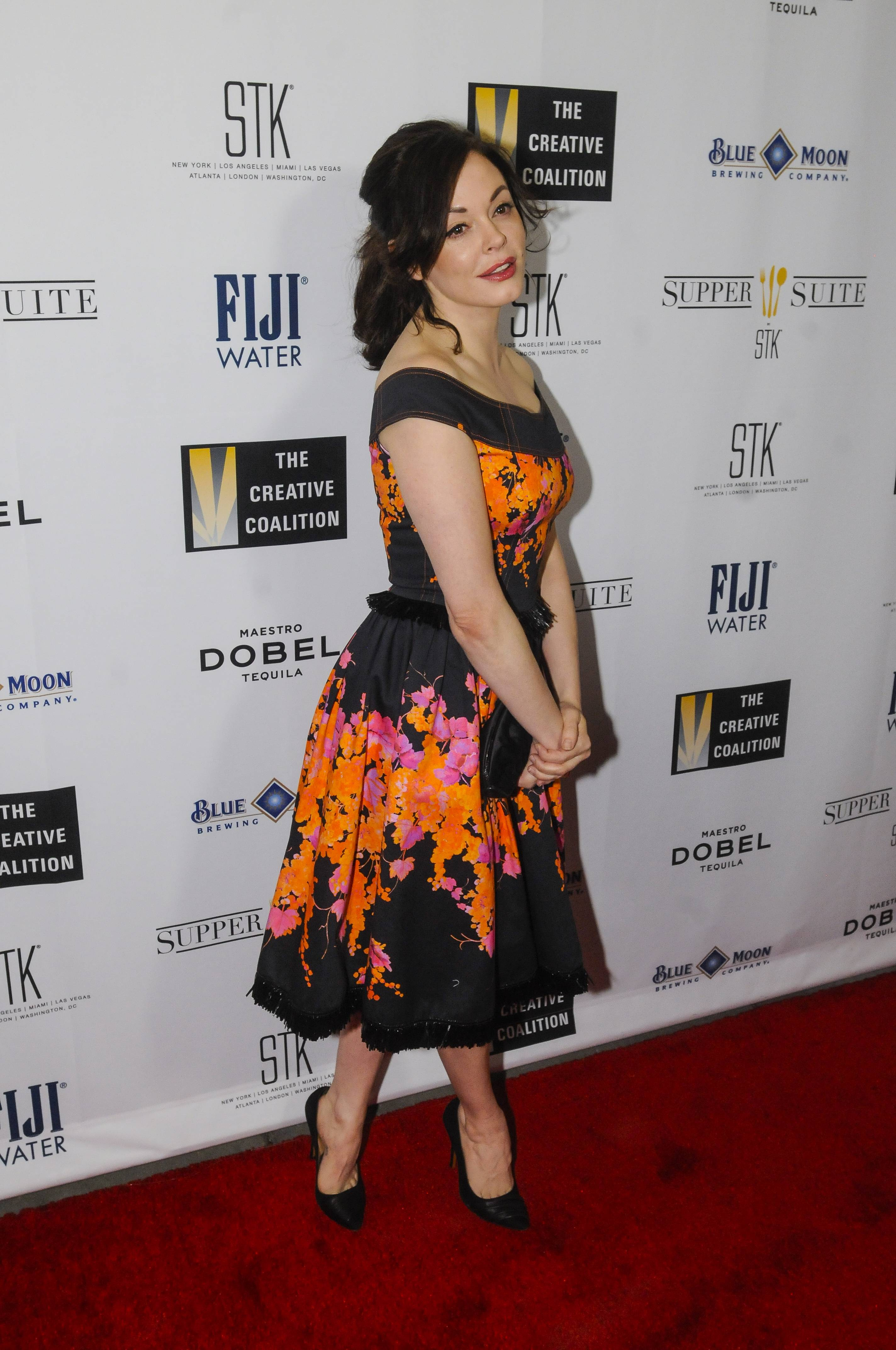 Rose McGowan Supper Suite by STK honors The Creative Coalitions Arts in America Benefit Gala