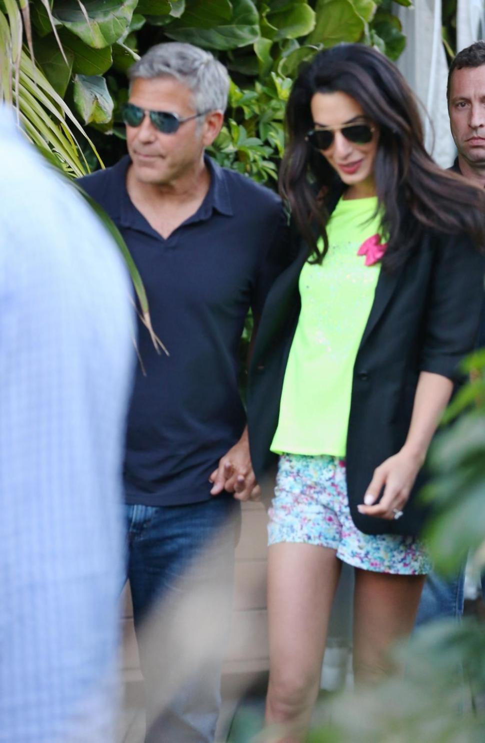George Clooney Amal Alamuddin Engagement Party