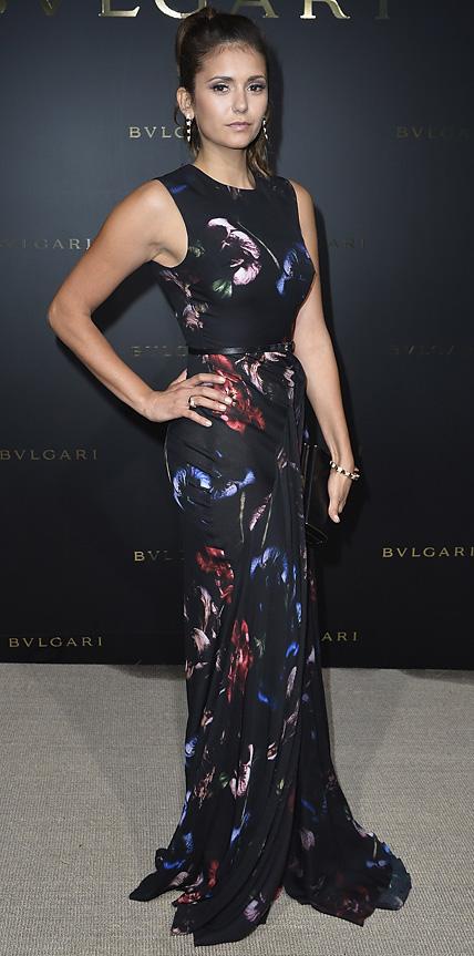 Nina Dobrev Dresses 2014 NINA DOBREV AT PARIS H...