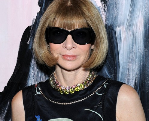 ANNA WINTOUR COMPLETES THE ALS ICE BUCKET CHALLENGE!