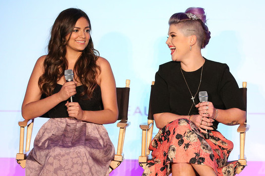 KELLY OSBOURNE AND BETHANY MOTA TALK STYLE + BEAUTY