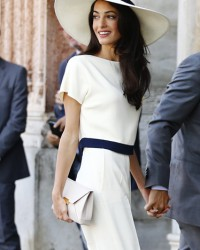 AMAL ALAMUDDIN + STELLA MCCARTNEY IN VENICE