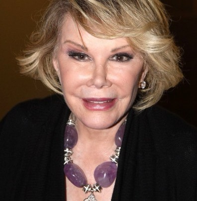 """JOAN RIVERS """"REMAINS ON LIFE SUPPORT"""""""
