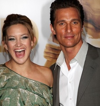 KATE HUDSON IMPERSONATES MATTHEW MCCONAUGHEY PERFECTLY
