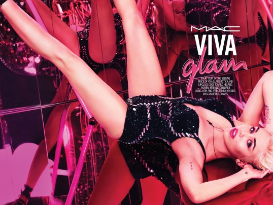 MILEY CYRUS IS NEW VIVA GLAM SPOKESPERSON