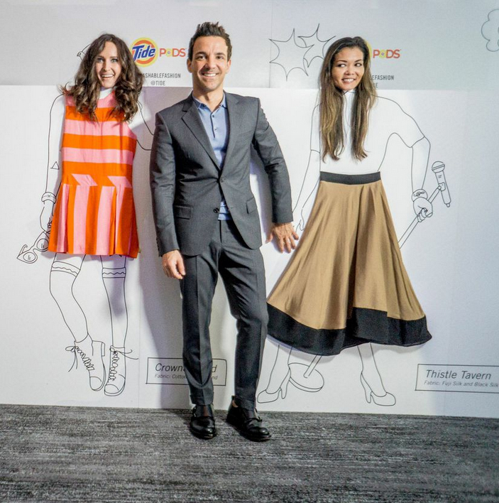 George Kotsiopoulos at the How to Make it in Fashion Conference