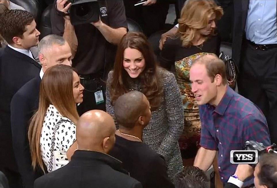 Beyonce Jay-Z Kate Middleton Prince William