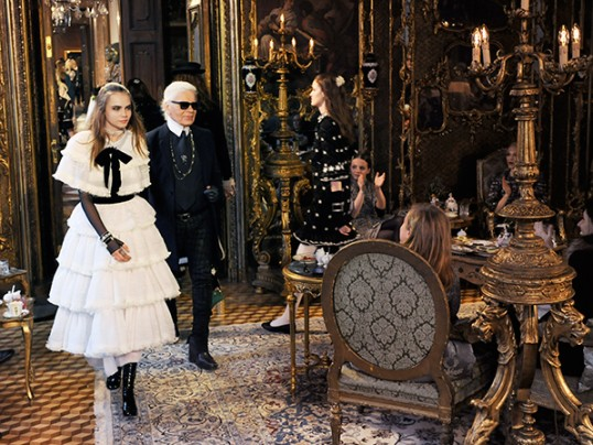 FAIRYTALES IN AUSTRIA FOR CHANEL METIERS D'ARTS FASHION SHOW