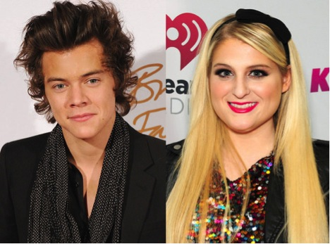 HARRY STYLES + MEGHAN TRAINOR COLLABORATED TOGETHER!