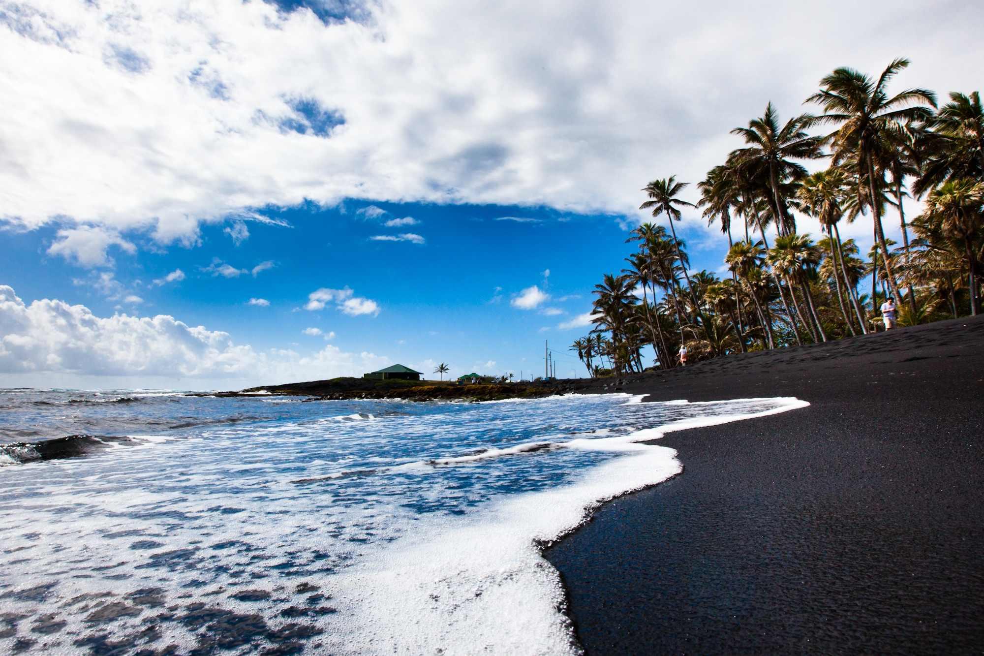 Punalu'u Beach, Hawaii