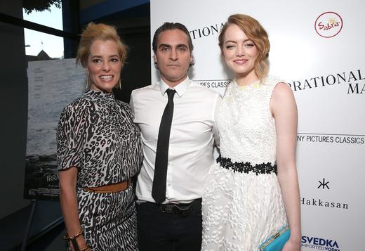 Parker Posey, Joaquin Phoenix, Emma Stone